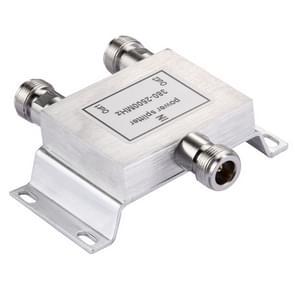 380-2500MHz N vrouwelijke Adapter 2-weg Power Splitter