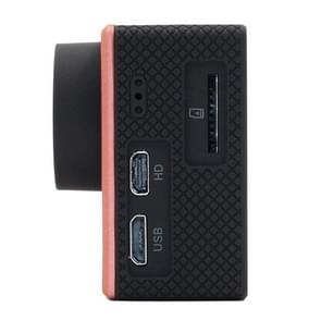 SOOCOO C50 4K HD 2 inch LCD scherm 12MP WiFi Sport Actie Camera Camcorder met waterdichte behuizing, 170 graden groothoek lens, ondersteunt 64GB Micro SD kaart, HDMI Output(roze)