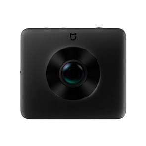 Originele Xiaomi MIJIA VR Camera Dual Lens 23.88MP Sensor 3.5 K opname Video 6-assige Anti-Shake 360 graden panorama Camera met statief houder met Ambarella A12  steun WiFi  Bluetooth  wereldwijde officiële Version(Black)