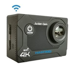 HAMTOD S9 UHD 4K WiFi sport camera met waterdichte behuizing  Generalplus 4247  2 0 inch LCD-scherm  170 graden groothoek lens (zwart)