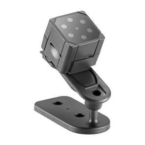 SQ19 HD 1080P 30 fps Ultra Mini DV-Pocket Digitale Video Recorder Camera Camcorder  ondersteuning van de beweging detecteren & IR nachtzicht (zwart)