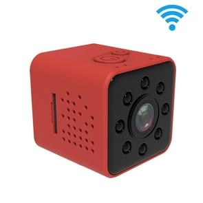 SQ23 Ultra-Mini DV Pocket WiFi 1080P 30fps Digitale Video Recorder 2.0MP Camera Camcorder met 30m Waterproof Case  Ondersteuning IR Night Vision (Rood)