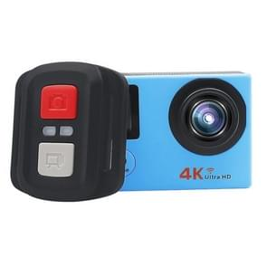 HAMTOD HB6R HD 1080P WiFi Sport Camera with Remote Control & Waterproof Case  Generalplus 4247  2.0 inch LCD Screen  140 Degree Wide Angle Lens(Blue)