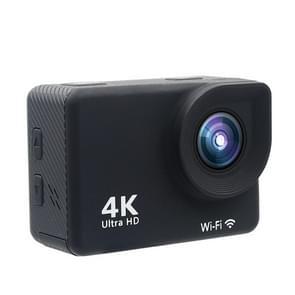 HAMTOD HK2T HD 4K WiFi Sport Camera met waterdicht hoes, Generalplus 5168, 2.0 duim LCD aanraakscherm, 170 graden breed hoek Lens(Black)