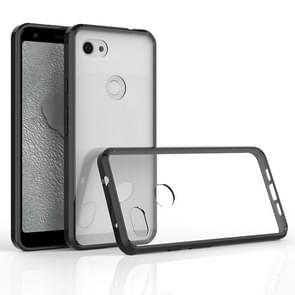 Scratchproof TPU + acryl beschermende case voor Google pixel 3A XL (zwart)