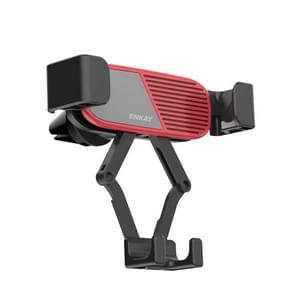ENKAY ENK-CM104 Magnetic Auto Gravity Car Holder Draaibare Auto Air Vent Mount Telefoonhouder (Rood)