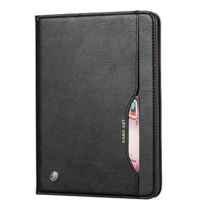 Knead huidtextuur horizontaal Flip lederen case voor Galaxy tab S5e 10 5 T720/T725  met foto frame & houder & kaartsleuven & portemonnee (zwart)