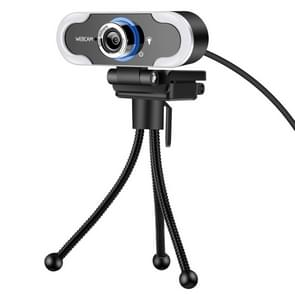 C13 1080P High-Definition Touch 3-niveau Helderheid Web Camera Fill Light Camera Live Webcast Webcam met Statief