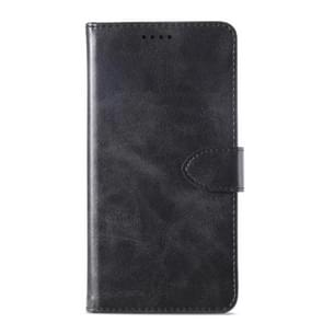 Kalf textuur horizontale Flip lederen draagtas voor Meizu 15 plus  met houder & kaartsleuven & portemonnee (zwart)