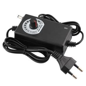 12V instelbare voeding adapter AC DC 3V-12V 2A 24W universele lader voltage regulator bestuurder EU plug