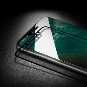 Voor iPhone 11 mocolo 0.33 mm 9H 2.5 D volledige lijm gehard glas film (zwart)