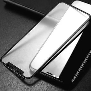 Voor iPhone 11 2pcs mocolo 0.33 mm 9H 2.5 D volledige lijm gehard glas film (zwart)