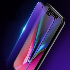 Voor iPhone 11/XR 2st mocolo 0.33 mm 9H 2.5 D volledige lijm anti blauw-ray gehard glas film