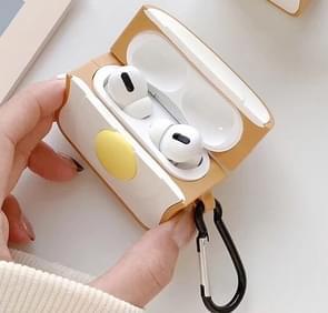 Voor Apple AirPods Pro Egg toast Bluetooth hoofdtelefoon beschermhoes