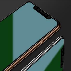 Voor iPhone 11/iPhone XR mocolo 0.33 mm 9H 3D gebogen anti-Blue-Ray gehard glas film