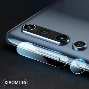 Voor Mi 10 2pcs mocolo 0.15mm 9H 2.5D Round Edge Camera Lens Tempered Glass Film