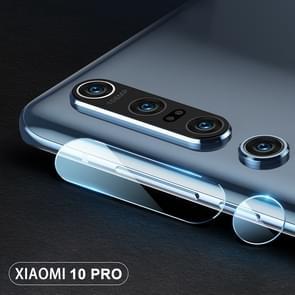 Voor Mi 10 Pro 2pcs mocolo 0 15mm 9H 2.5D Round Edge Camera Lens Tempered Glass Film