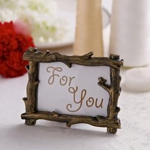 5 PC'S retro houten bruiloft bruiloft Home decor afbeeldingen frame