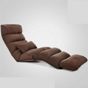 Moderne sofa bed lounge woonkamer relax stoel opvouwbare slaapbank (koffie)