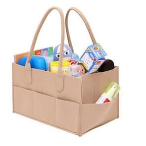 Mummie tas opslag multifunctionele moederschap handtassen organisator wandelwagen accessoires  grootte: 33x23x18cm  kleur: beige