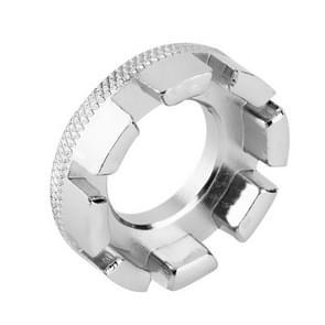 Fiets Spaak moersleutel tool 8 manier fietsen wiel RIM spanner Wrench Repair Tool accessoires (zilver)