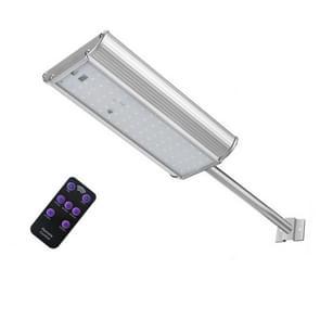 70 LEDs Solar lamp outdoor waterdichte aluminiumlegering afstandsbediening bewegingsdetectie straat lamp
