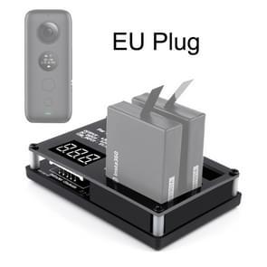 Micro USB batterijlader voor 3 PC's voor Insta360 een X Panorama Camera (Eu Plug)