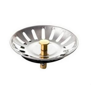 2 stks stopper spin Lock gootsteen Afvoerzeef  materiaal: roestvrijstaal