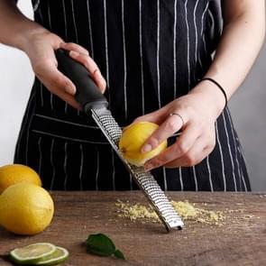 5 STKS draagbare rechthoek RVS kaas rasp tools chocolade citroen fruit dunschiller (Kleurenbox)