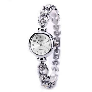2 stuks mooie vrouwen Pearl horloges (zilver)