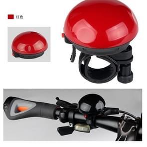 Fiets mountainbike elektronische Bel zonder batterij  kleur: rood (XC-139)