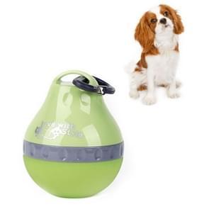Huisdieren gaan uit draagbare vouwende ketel drinkende drinkwatervoorziening  grootte:S(Groen)