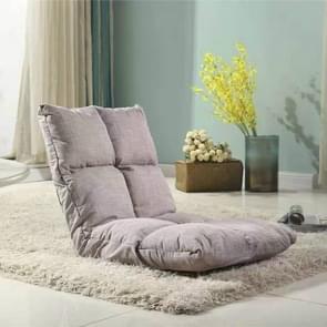 Luie sofa stoel tatami vloer kussens bed stoel vouwen Bank (licht paars)