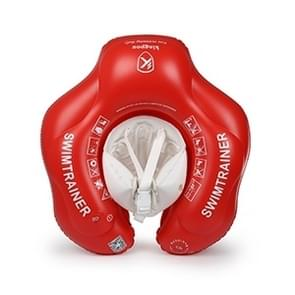 kingpou 0.3 mm PVC slijtvaste opblaasbare baby zwemmen ring (Red L)