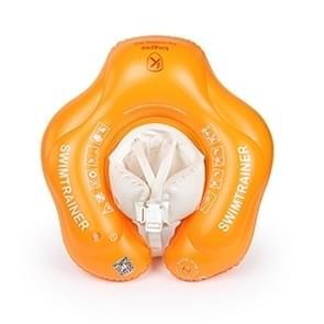 kingpou 0.3 mm PVC slijtvaste opblaasbare baby zwemmen ring (oranje M)