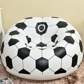 Fashion casual luie stoel creatieve opblaasbare sofa één kruk (voetbal bank)
