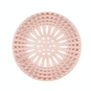 Filter badkamer keuken riool afvoer gootsteen anti verstopping (roze)