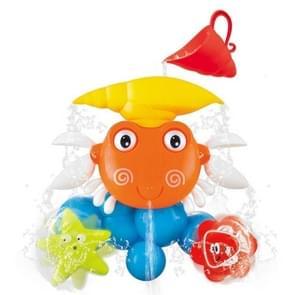Kinderen Bad Speelgoed Krab Zonnebloem Douche Water Spray Badkamer Speelgoed (Zoals Show)