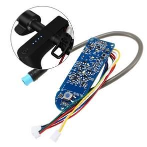 Elektrische scooter dashboard batterij indicator schakelaar paneel controller voor Xiaomi Mijia M365 elektrische scooter