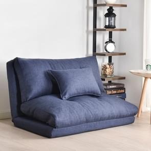 Dubbel doel klein appartement slaapkamer multifunctionele opvouwbare luie kleine slaapbank (90cm donkerblauw)