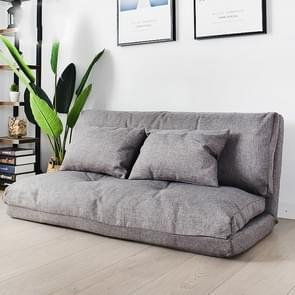 Dubbel doel klein appartement slaapkamer multifunctionele opvouwbare luie kleine slaapbank (120cm lichtgrijs)