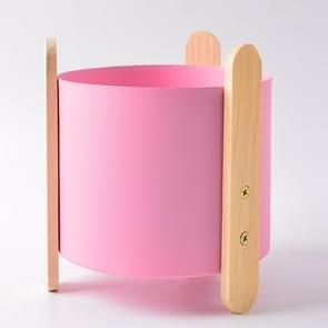 Metalen smeedijzeren bloem pot ornamenten ambachten Desktop ornamenten Home accessoires (roze)