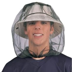 Anti-mug Bee insect netto hoed hoofd gezicht bescherming netto dekking reizen camping Protector