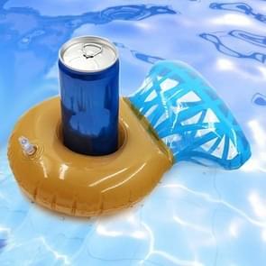 Diamond Ring Vorm Opblaasbare Coaster Floating Water Drink Cup Holder Beach Supplies