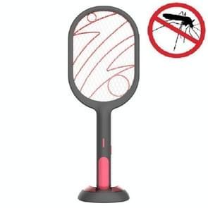 LED-verlichting elektrische muggenlamp USB Opladen Mosquito Swatter (Zwart)