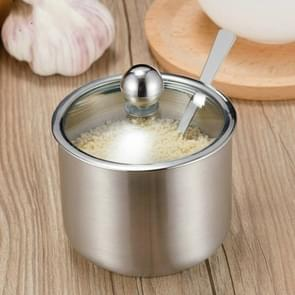 RVS kruiden jar set huis keuken kruiden vak combinatie  specificatie: Straight Spice jar Small