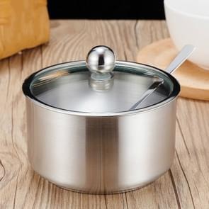 RVS kruiden jar set huis keuken kruiden vak combinatie  specificatie: rechte Spice jar groot