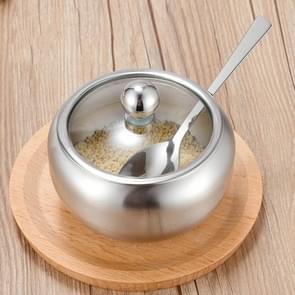 Roestvrijstaal kruiden jar set huis keuken kruiden vak combinatie  specificatie: tomaat Spice jar medium