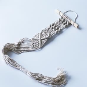 Boheemse geweven opknoping mand Home pot rack ornamenten (D)