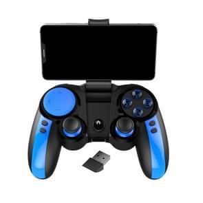 ipega PG9090 Smurf 2.4 G draadloze Bluetooth gamepad  ondersteuning IOS & Android-apparaten direct verbonden (zwart blauw)